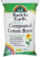 Back To Earth Composted Cotton Burrs