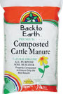 Back To Earth Composted Cattle Manure